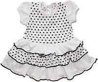 Детское платье летнее Горошек