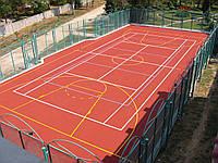 Резиновое покрытие для спортплощадки