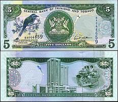 Тринидад и Тобаго 5 долларов 2006 ( 2015 ) P54 UNC