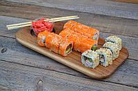 Деревянная доска - посуда для подачи суши, фото 1