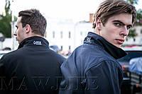 Soft Shell Мужской зимний костюм на флисе влагоустойчевый MAW man&wolf  синий navi tactic 5.11