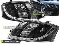 Передние фары тюнинг оптика Audi TT