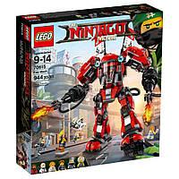 Конструктор LEGO NINJAGO Огненный робот Кая (70615)