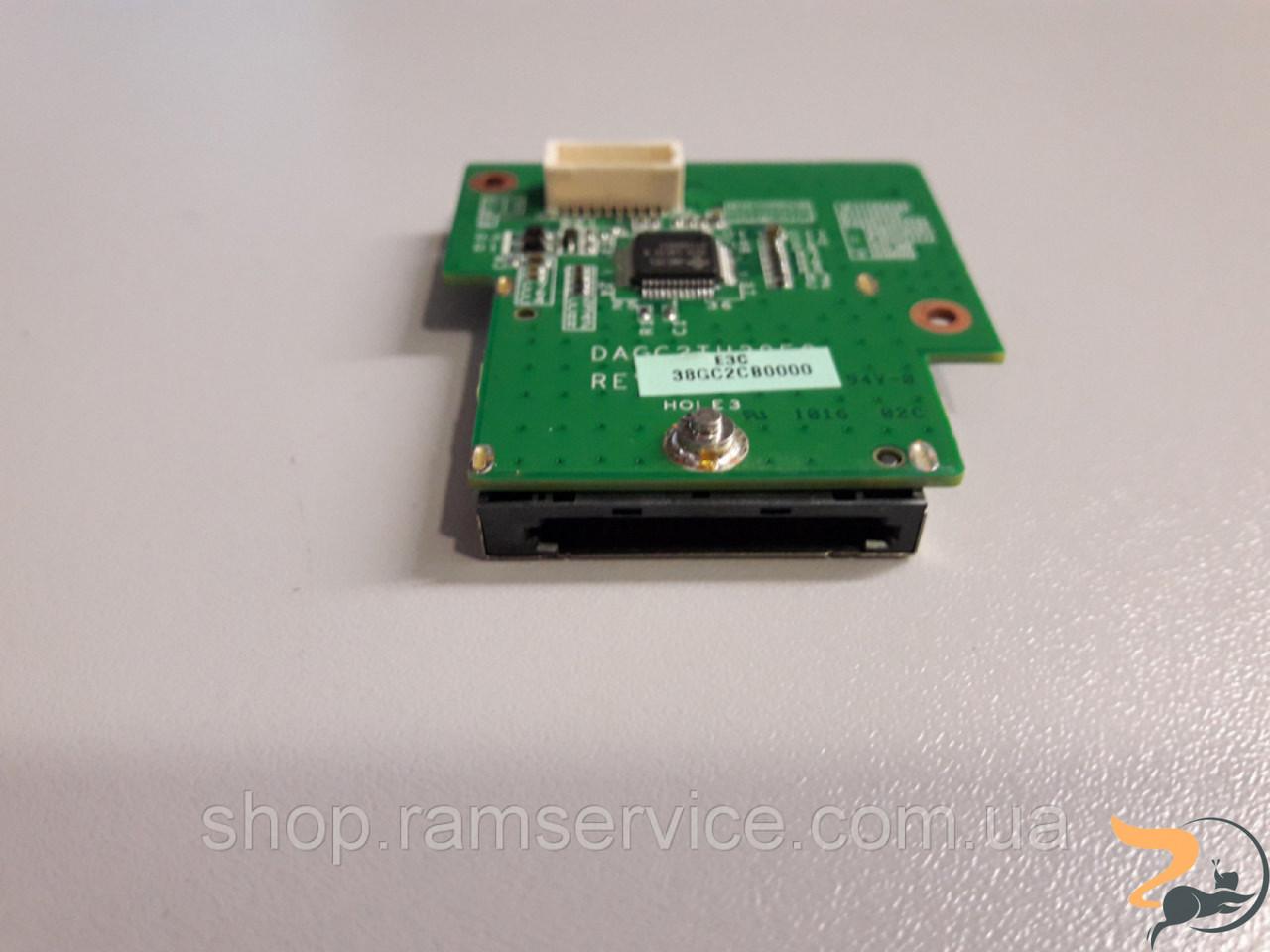 Card Reader плата для ноутбука Lenovo ThinkPad L512, DAGC2TH38F0, б/в