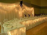 Оформление свадебных помещений дизайнером