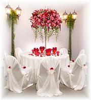 Декоративное оформление интерьера на свадьбу или праздник дизайнером