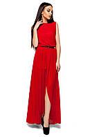 Женское легкое вечернее платье без рукавов Karree Тенерифе красное