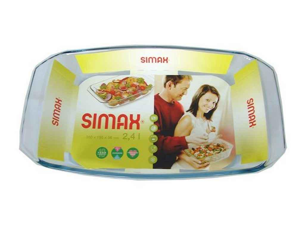 """Противень для запекания стеклянный 4,0 литра Color s7526 """"SIMAX"""""""
