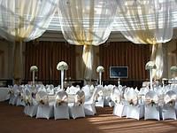 Оформление зала на свадьбу дизайнером