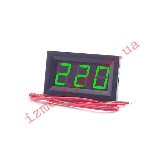 Цифровой вольтметр AC 30-500 В