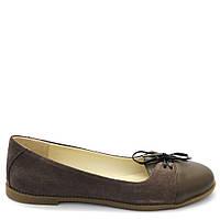 Туфли замшевые цвета кофе