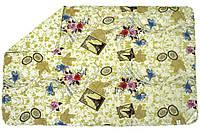 Одеяло облегченное двуспальное евро (100% овечья шерсть, сатин, 200х220 см) ТМ Руно 322.137ШК, фото 1
