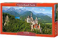 """Кастор пазлы 4000 """"Замок Нойшванштайн, Германия"""" 138*68"""