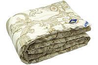 Одеяло зимнее евро двуспальное Luxury (овечья шерсть, сатин жаккард 200х220 см) ТМ Руно 322.29ШЕУ, фото 1