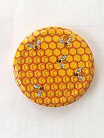 """Крышка твист-офф 66 мм """" пчелы"""""""