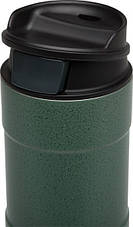 Термокружка зеленая 0.35L CLASSIC ONE HAND Stanley (Стенли) (10-01569-005), фото 3