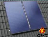 Монтажный комплект для поверхности с наклоном 30-65°, металлочерепица, рубероид, вертикальный монтаж