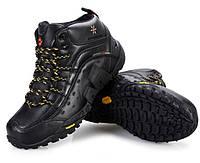 Зимние мужские ботинки Merrell черные, фото 1