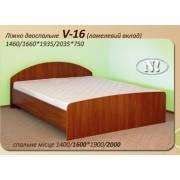 Кровать V-16 двуспальная (Континент) 1400х2000мм
