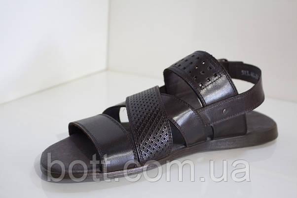 Сандали мужские кожаные, фото 2