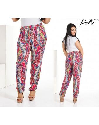 Женские брюки абстракция дг д 4107