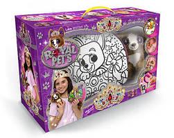Набор креативного творчества - сумочки с собачками, безопасные краски, плюшевая игрушка, корона и браслетик