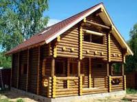 Построить дом из дерева  в Днепропетровске