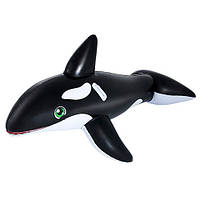 Плотик  надувной Веселый кит - настоящая находка  для Вашего маленького любителя активного пляжного отдыха