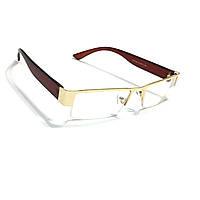 Очки для зрения с белой линзой
