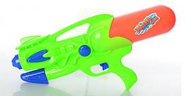 Водяной автомат  (Зелёный)  - яркая функциональная игрушка для веселых игр с водой летом