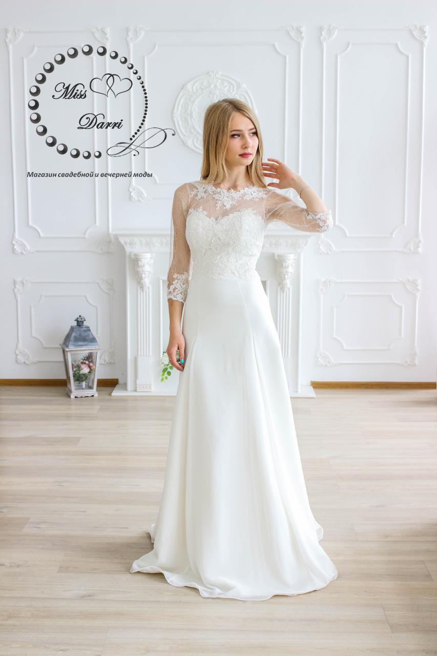 Свадебное платье и букет: идеальное сочетание фасона и формы ... | 1280x853