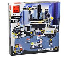 """Конструктор """"Полицейский штаб""""  Brick 128 количество деталей – 325 штук"""