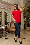 Женская блуза ботал креп-шифона , фото 2
