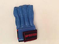 Шингарты кожаные, манжет на липучке - XL, фото 1