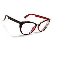 Жіночі окуляри з білої лінзою 725 б, фото 1