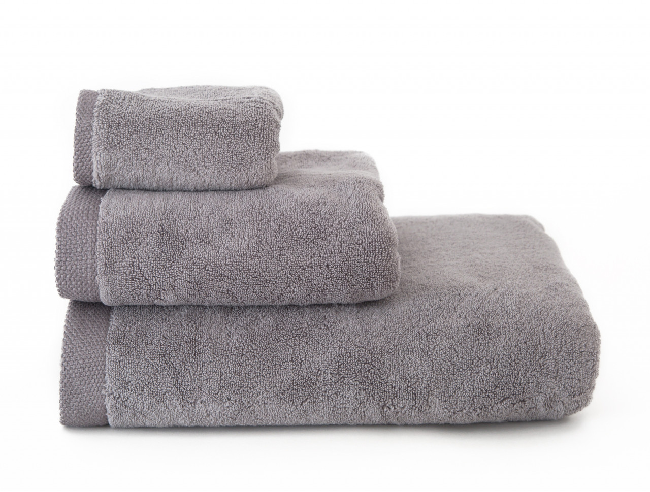 Полотенце махровое Irya 50х90 Comfort microcotton серый