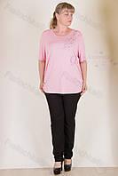 Блуза трикотажная 7018-215-233 супербатал от производителя Украина