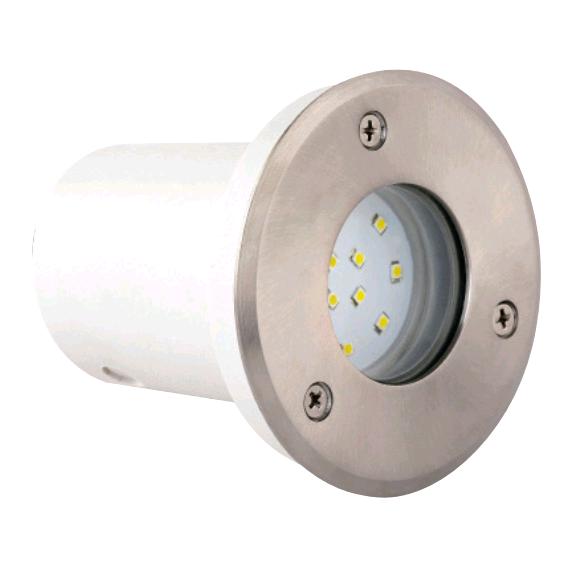 Тротуарный светодиодный светильник SAFIR белый/синий