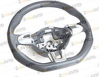 Руль спортивный кожаный для авто с TIPTRONIC и декоративными вставками VW Tiguan Фольксваген Тигуан