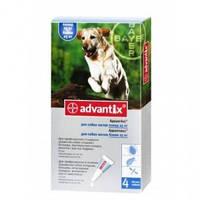 АДВАНТИКС для собак против блох и клещей вес собаки более 25кг