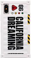 Чехол-накладка Remax California Dreaming Case Apple iPhone X White