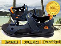 Мужские кожаные сандалии Nike