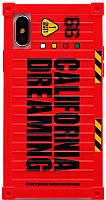 Чехол-накладка Remax California Dreaming Case Apple iPhone X Red