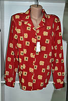 Женская блузка с принтом длинный рукав, фото 1