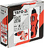 Аккумуляторная отвертка 3,6В 1,3 Ач Yato YT-82760, фото 2