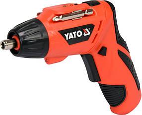 Аккумуляторная отвертка 3,6В 1,3 Ач Yato YT-82760