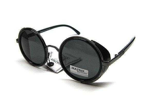 647353e94089 Модные круглые очки 2018 солнцезащитные Matrix Polaroid - Остров Сокровищ  магазин подарков, сувениров и украшений