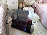 Журнальний столик багіра зі склом, фото 4