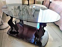 Журнальный столик багира со стеклом