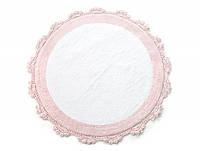 Коврик для ванной Irya - Doreen pembe-beyaz розовый 90*90